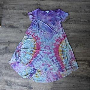 LuLaRoe Dresses - LuLaRoe Carly tie dye